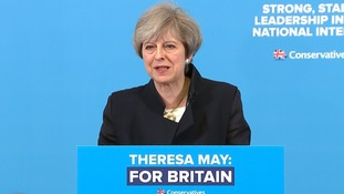 Theresa May: Labour has 'deserted' the working class