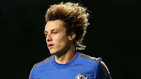 David Luiz is back to help shore up the Chelsea defence on Wednesday