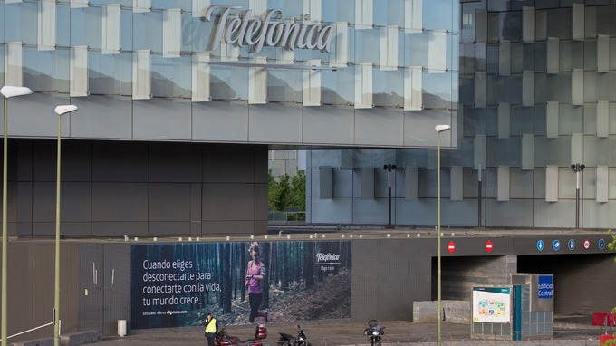 Spanish telecoms giant Telefonica was among the companies targeted