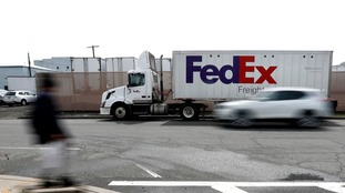 FedEx said the problems were caused by malware.