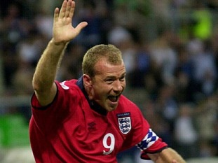 Alan Shearer scored as England beat Germany in Euro 2000 in the year the Owls were relegated