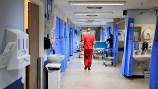 stock NHS ward
