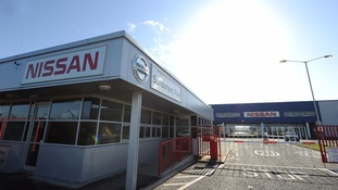 Nissan's plant in Sunderland has been affected.