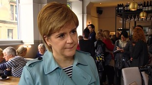 Nicola Sturgeon revealed the extent of the cyber attack in Scotland.