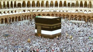 Around 25,000 British Muslims make the pilgrimage to Mecca.