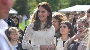 Royals host tea party for bereaved children of Armed Forces families