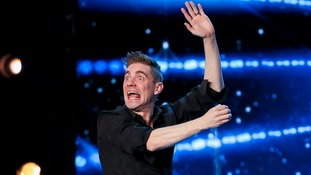 BGT: Ant and Dec push golden button for Tommy Cooper-like entertainer