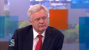 David Davis signals clash with European Union over Brexit talks timetable