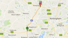 ROADS: M1 - SOUTHBOUND - NOTTINGHAMSHIRE