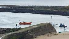 Tynemouth RNLI at Cullercoats on Sunday.