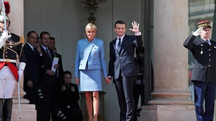 Emmanuel Macron inaugurated as French president amid heightened security in Paris