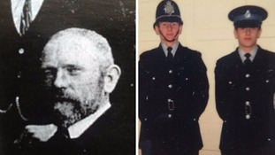 Five generations of Mr McWalter's family have served the force.