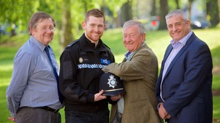 Adam McWalter is set to become a Pc with West Midlands Police.