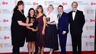 Happy Valley took home the coveted award for drama series.