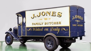Corporal Jones's butcher's van