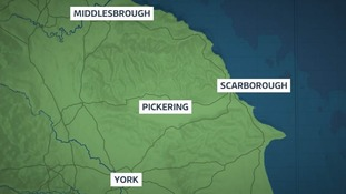 A man in his 50s has died in a crash near Pickering