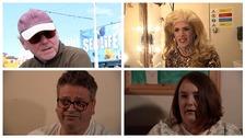Voters in Blackpool.