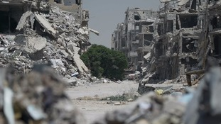 Homs 'the cradle of the revolution' in Syria back under Assad's control