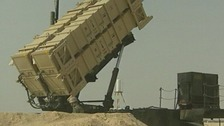 Patriot missiles similar to those which will be deployed in Turkey