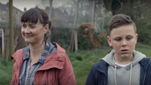 A scene from the advert