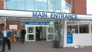 Chesterfield Royal has been rated as good