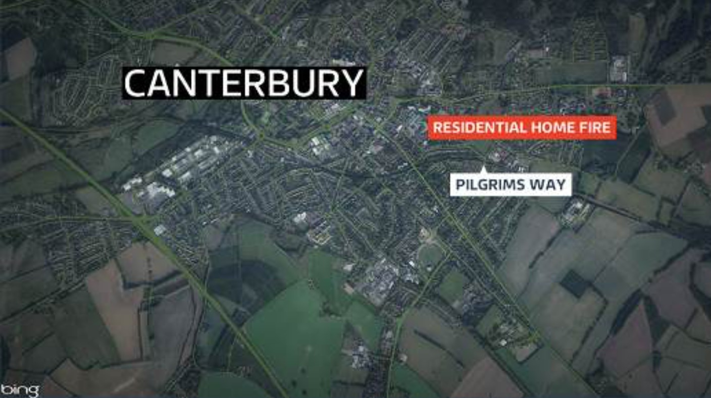 Overnight evacuation after care home fire in canterbury for Canterbury home show