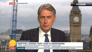 Chancellor Philip Hammond says Labour manifesto figures 'simply don't add up'