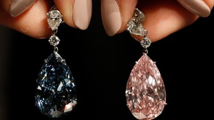 The Apollo blue diamond and the Artemis pink diamond are the world's most expensive earrings.