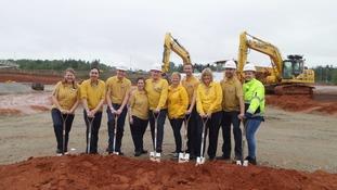 Groundbreaking ceremony for long-awaited IKEA store
