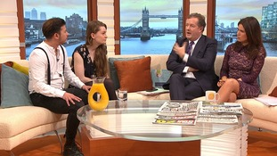Gender non-binary couple in heated GMB debate
