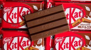 KitKat sold more than £40 million-worth of four-finger bars in 2010