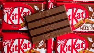 KitKat gets thumbs down in four-finger trademark row