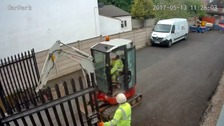 They posed as workmen and broke into the unit.