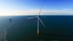World's biggest wind turbines officially open in region