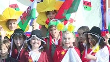 St David's Day celebrations in Prestatyn