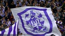 Fans fly Huddersfield's flag
