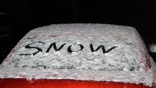 Snow in Berkshire