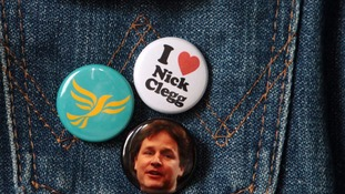 Clegg badge
