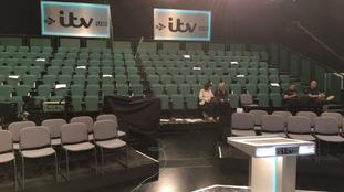 Stage set for tonight's ITV leaders' debate