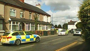Police were attending an incident on Woodway Lane in Walsgrave.