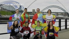 The organisers of the Great North Run are re-launching their Great World Run campaign later.