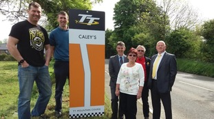 Section of IoM TT Course named after well-known local