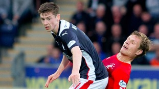 McGrandles previously played for Falkirk.