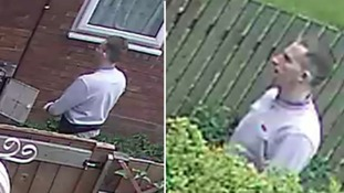 This is the man police would like to speak to in connection with the burglaries.
