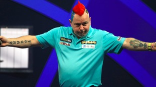 Peter Wright was unale to add to his UK Open title