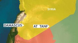 US warplanes strike Syrian pro-government militia convoy