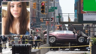Woman killed after car driven into New York pedestrians named