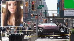 Alyssa Elsman, 18, died after the crash on Times Square in New York.