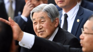 Akihito indicated last year that he wished to step down