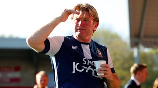 Stuart McCall has his eyes on promotion to the Championship